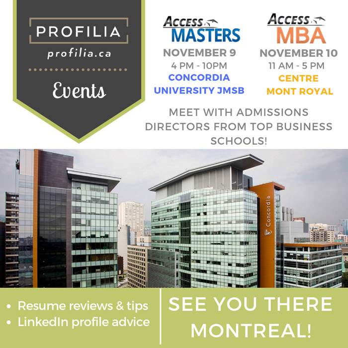 Profilia Access Masters and Access MBA
