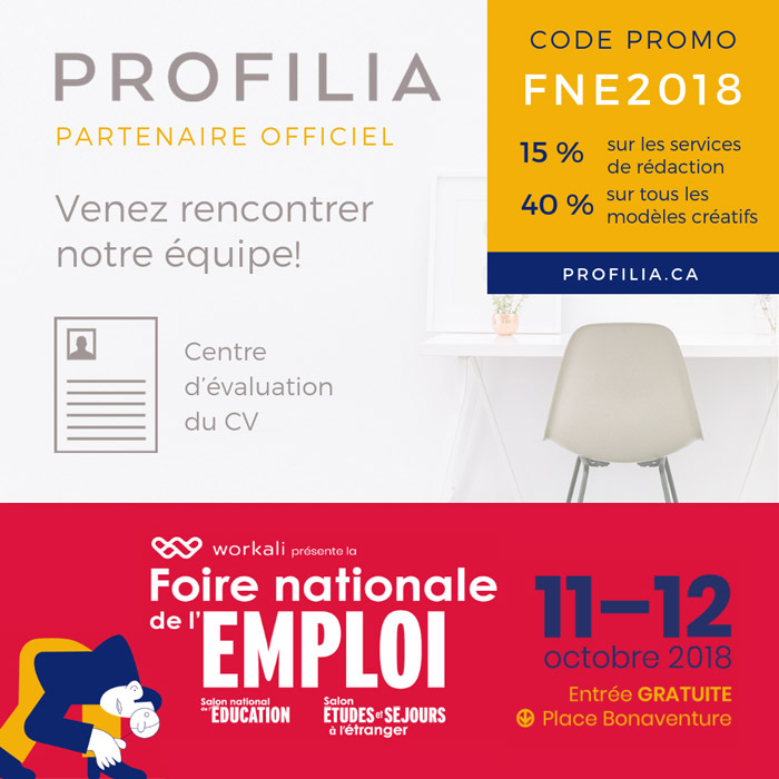 National Job Fair Profilia Ad